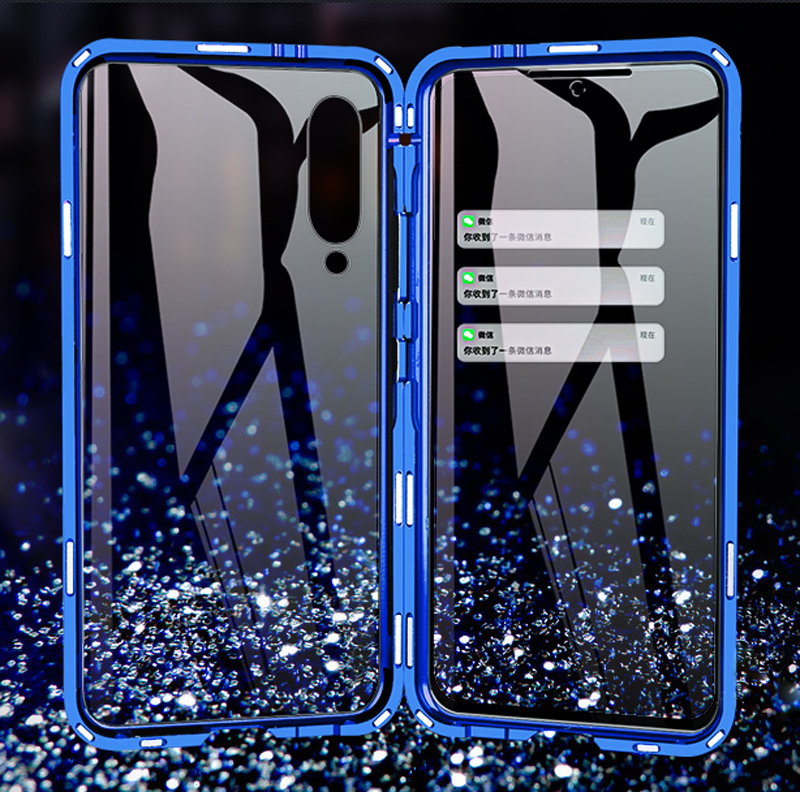 Luxury Full Body Protective Magnetic Case For Xiaomi Mi 9 Case 360 Transparent Tempered Glass Back Cover Xiaomi Mi9 Case coque