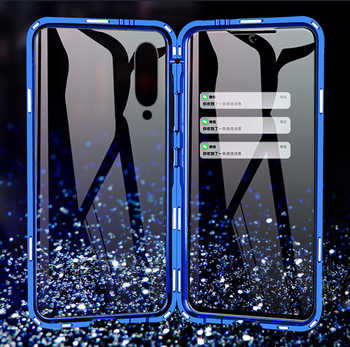 Luxury Full Body Protective Magnetic Case For Xiaomi Mi 9 Case 360 Transparent Tempered Glass Back Cover Xiaomi Mi9 Case coque - DISCOUNT ITEM  37% OFF All Category