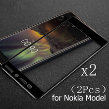 Tempered Glass Screen For Nokia 5 6 7 8 2.1 3.1 6.1 Plus X6