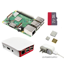 все цены на 2018 new original Raspberry Pi 3 Model B+plus Board+Heat Sink+Power Adapter AC Power Supply 1GB LPDDR2 Quad Core WiFi&Bluetooth онлайн