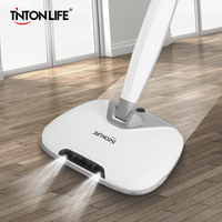 Cordless Dual Spin Electric Mop Floor Cleaner Spray Wax Mop Flexible Cleaning Appliances With For Wet&Dry Use