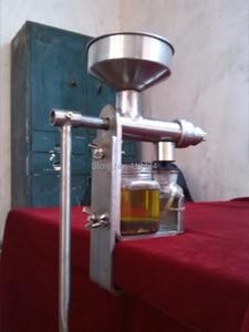 Image 4 - Handmatige Olie persmachine olieverdrijver Rvs 304 food grade