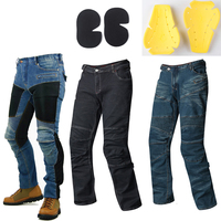 2018 Sale Pantalones Motocicleta Hombre Featherbed Jeans The Standard Version Car Ride Trousers Motorcycle Drop And 4pcs Pads