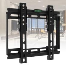 Universal 20KG Adjustable TV Wall Mount Bracket Support 10 Degree Tilt for 12-37 Inch LCD LED Monitor Flat Panel TV Holder Stand
