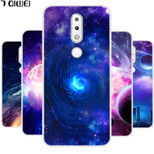 hot deal buy silicone cover for nokia x6 2018 case 5.8'' soft tpu case for nokia x6 2018 x 6 case phone case for nokia 6.1 plus fashion star