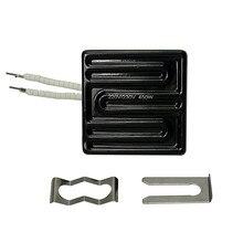 Bga часть 80*80 мм инфракрасная верхняя керамическая нагревательная пластина 450 Вт для BGA станции IR6000 IR6500 IR-PRO-SC