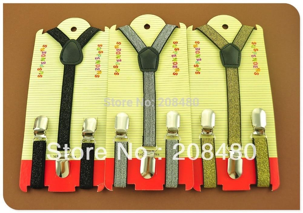 Free Shipping-CHILDREN/ BOYS/GIRLS Suspender 1.5cm New Kids Suspenders