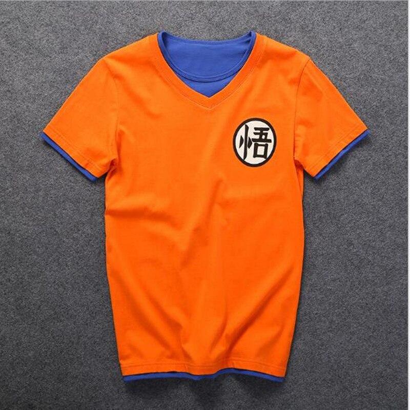2017 Summer T Shirt Casual Short-sleeved Dragon Ball T Shirt O-Neck T-Shirt Plus Size Unisex Tee Top