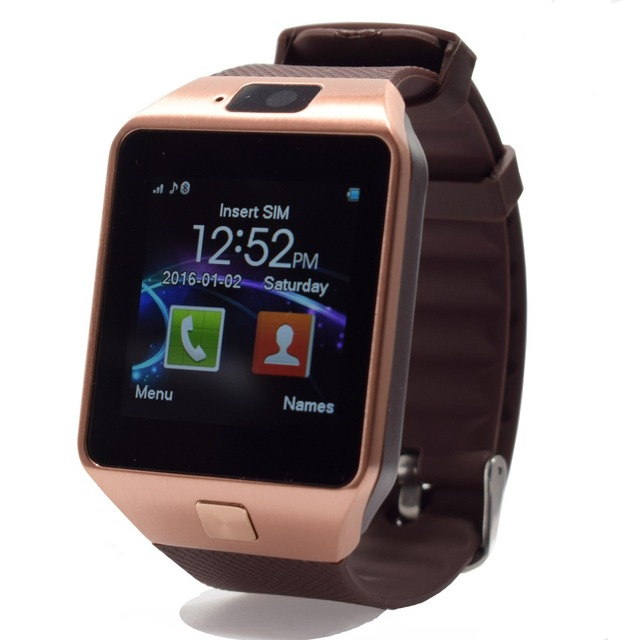 SIM/TF карты Smart Watch для Android Iphone Bluetooth 3.0 Наручные Часы Smartwatch Телефон PK GT08 A1 Часы Поддержка facebook whatsapp