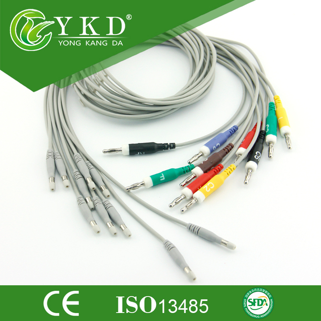 Compatible leadwires for Welch Allyn for use with th 400293 10-lead patient caable on models CP100,CP200 1