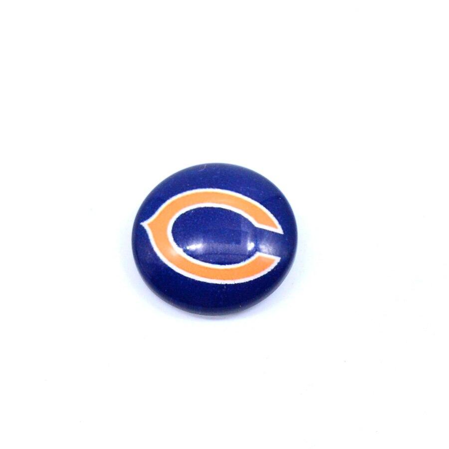 Футбол Chicago Bears плавающий Талисманы для Стекло плавающий Талисманы медальон Мода 2018