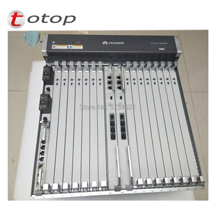 Image 5 - 19 inch Huawei MA5800 X15 OLT with 2* MPLA Control and 2*PILA DC Power ,16 pots GPHF C+ board