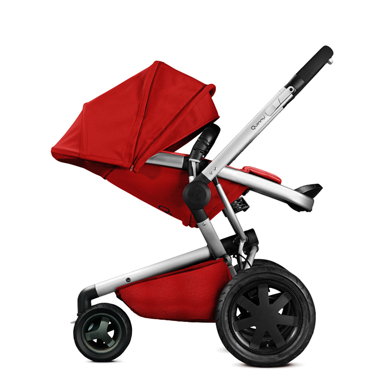 все цены на Quinny High Landscape Baby Stroller Can Sit And Lie Carts Bidirectional Multifunctional Folding Umbrella Cart