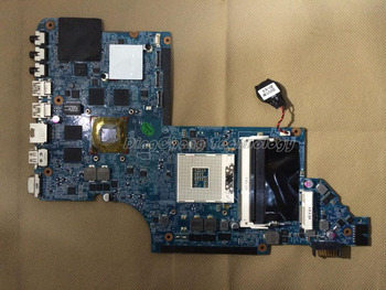 HOLYTIME laptop Motherboard for hp DV7 DV7-6100 655489-001 HM65 HD6770 2GB Non-integrated graphics card 100% fully tested