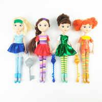 4pcs/set Anime Cartoon Fairy Patrol Doll Russian Princess Girls Toys Children Birthday Gift Doll For Girls
