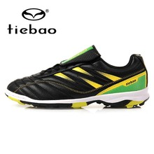 Tiebao Pro Children Outdoor Soccer Shoes TF Turf Sole Football Shoes Sneaker Teenagers Athletic Training Shoes Zapatos de futbol