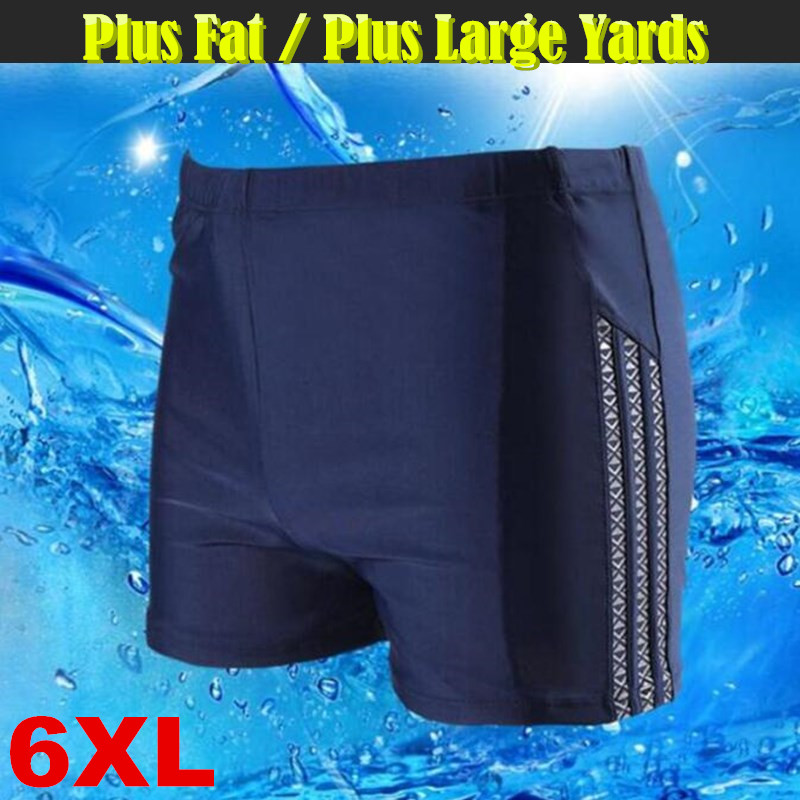 2017 Hot Sexy Men Swimwear Casual <font><b>Board</b></font> <font><b>Shorts</b></font> Swimwear Fitness Compression Pro Man Boxer Trunks Beach Hot Spring <font><b>6XL</b></font> Big Yards image