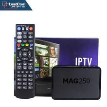 Mag 250 Subcription IPTV IPTV Box + 1 ano 1000 europa IPTV É DE REINO UNIDO Francês Português Espanhol Turco TV caixa