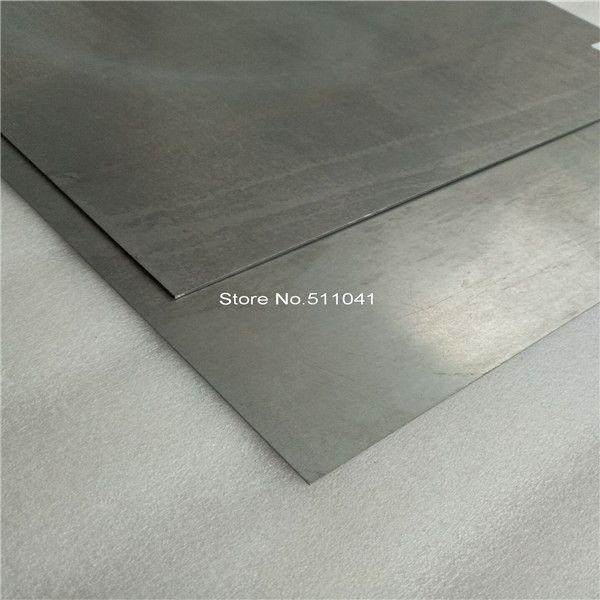 Mo Sheet Molybdenum Sheet Polished Surface 2mm*300mm*300mm, 2pcs,free Shipping