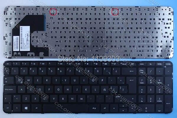 Best seller laptop keyboard for hp 15-B with frame LA black keyboard