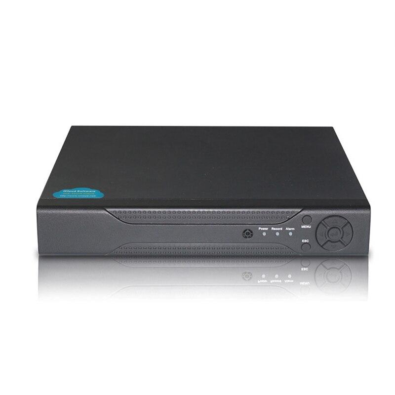 YiiSPO 1080N 5in1 4CH AHD/CVI/TVI/analog  DVR Security CCTV Video Recorder P2P 1080P NVR VGA HDMI For HD AHD/XM Ip Camera Xmeye