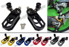 waase Aluminum Chain Adjusters with Spool Tensioners Catena For Yamaha YZF R6 2006 2007 2008 2009 2010 2011 2012 2013 2014-2016