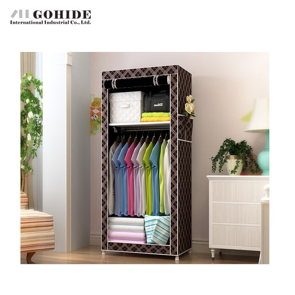 Gohide Cloth Mesh Wardrobe Simple Easy Folding Portable Closet Sundries Storage In Wardrobes From Furniture On