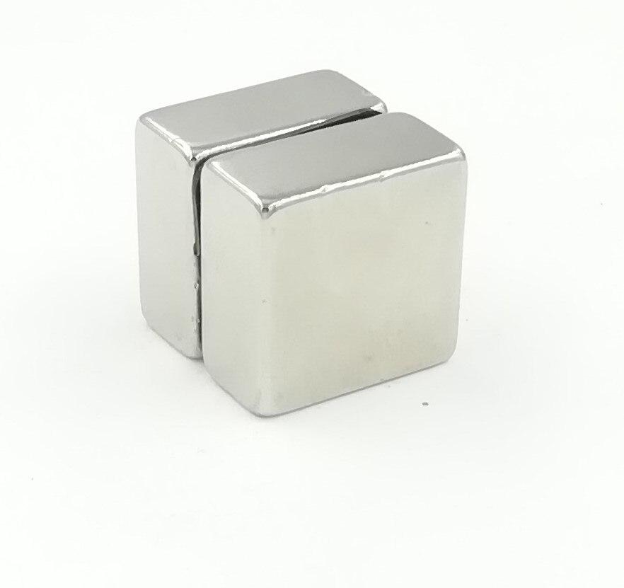 1-50Pcs Super Strong N52 Circle//Cuboid Magnet Block Rare Earth NdFeB Neodymium