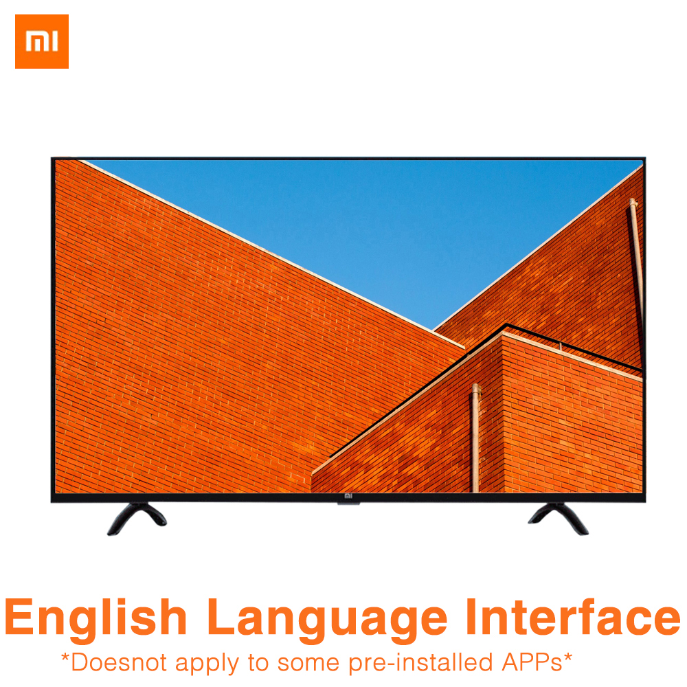Xiaomi TV 4A 32 pouces 1366x768 télévision 64 bits Quad Core Intelligence artificielle 1 GB 4 GB Smart TV