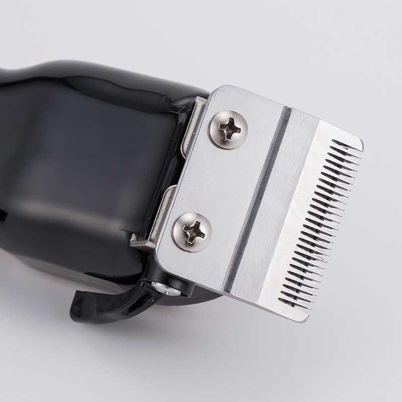 100-240V Professionele Tondeuse Voor Kapper Oplaadbare Tondeuse Haar Scheren Machine Elektrische Haar Knippen Baard Cut