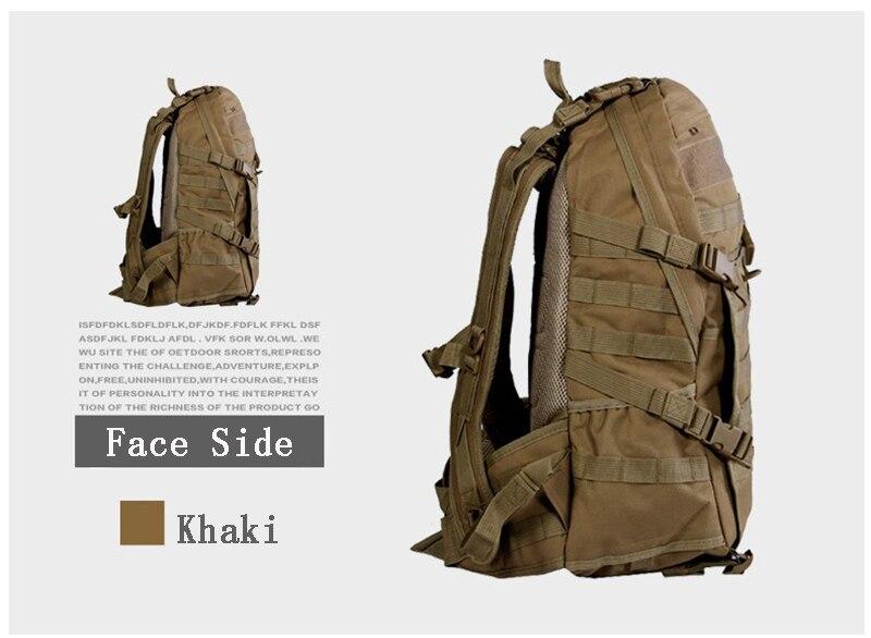Offre spéciale!!! TAD hommes sac à dos militaire Molle Camouflage sacs de voyage 40L sacs en Nylon imperméable multi-fonction sac à dos pour ordinateur portable - 3