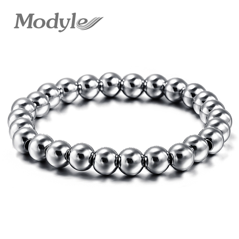 ZORCVENS Biker Bicycle Metal Ball Jewelry Bracelets For Men