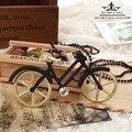 Handmade Bicicleta Retro Longo Colar de Pingente de Moda de Luxo Cristal Camisola Cadeia Feminina Longo Colares de Jóias