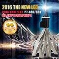 2016 Super bright LED Headlight Kits 9V/36V DC P7 H1 H3 H4 H7 H11 H13 9004 880r 6000K White Suitable for all 12V & 24V car