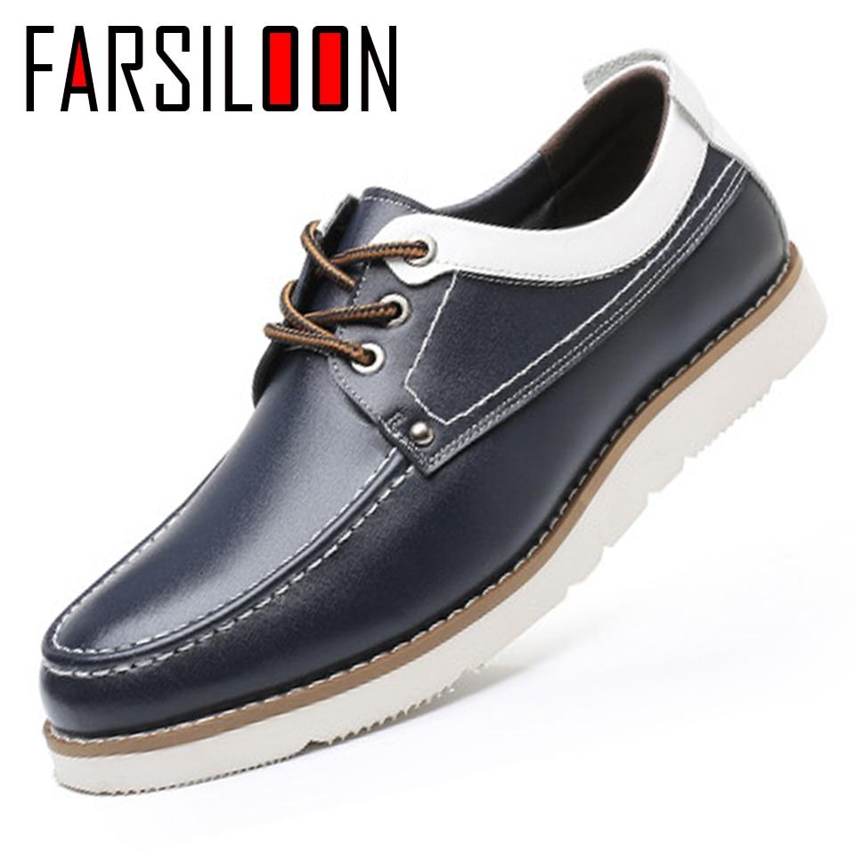 ffcb9b00c Moda Sapatos Prova À D' Ol008 Da up Confortáveis Dos y Casual Água Único  ol008 Lace Jovens Homens De Ol008 Couro ...