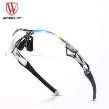 WHEEL UP Photochromic Cycling Glasses Anti-UV Discoloration Polarized Bike Bicycle Sports Sunglasses MTB Cycling Eyewear