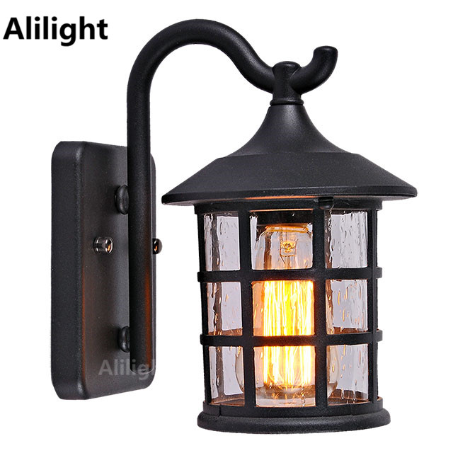 American Country Style Outdoor Wall Lamp Retro Waterproof Courtyard Light For Bar Coffee Vintage Corridor Home Fixture In Lamps From Lights