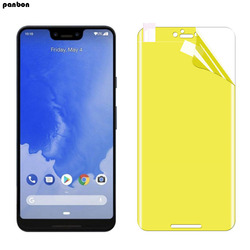 На Алиэкспресс купить стекло для смартфона 3d screen protector for google pixel 3a xl hydrogel film screen guard for google pixel 3axl gel protective nano film not glass