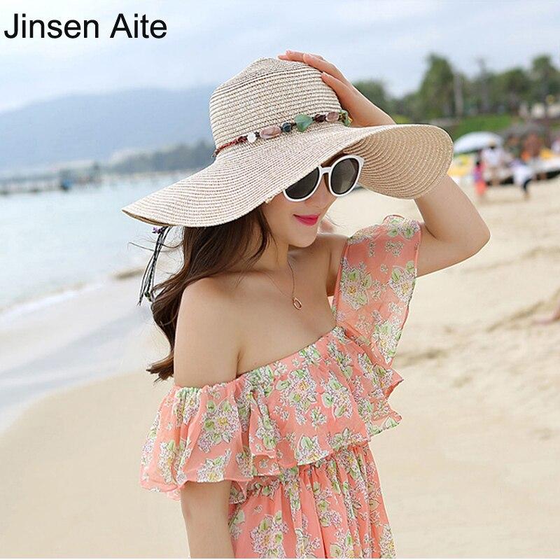 Jinsen Aite New Fashion Beach Klobouky pro ženy Sluneční čepice - Příslušenství pro oděvy