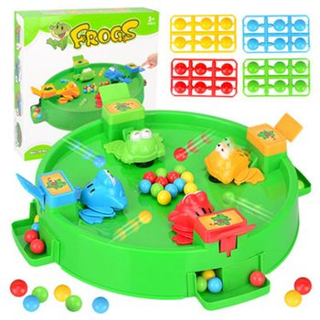 2019 Funny Frog Eating Beans Board Games Toys For Children Interactive Desk Table Game Family Game Educational Toys Kid Gifts iq car intelligence racing puzzle board game funny entertainment game play family party children educational toys