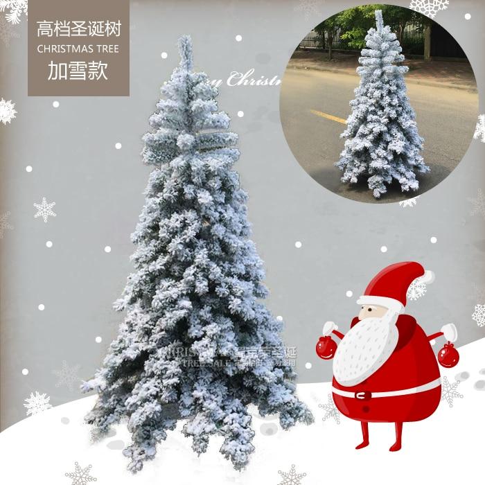 Christmas Tree Spray Snow.Christmas Tree 1 8 M Christmas Tree Package Shu Jing Hui Pvc Spray Snow Snow Christmas Decoration Christmas Tree 1 8 Meters