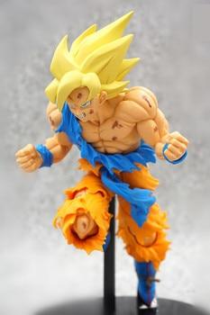 Anime Dragon Ball Z Super Jump 50th Anniversary Son Goku Figure Model Collection Toys 19cm