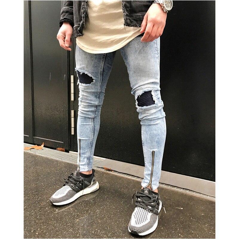 мужчины Жан; Материал:: Джинсовая; осень джинсы;