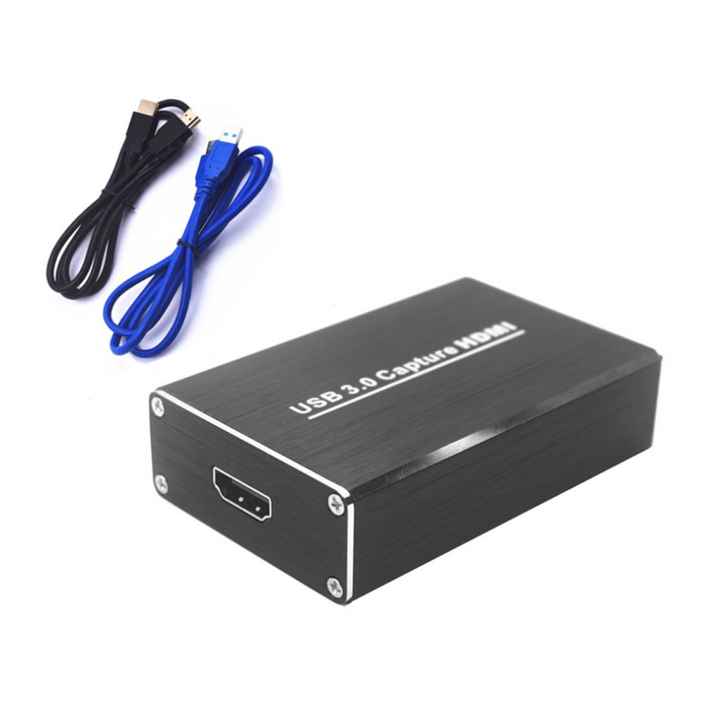 Free Drive USB3.0 Capture HDMI To USB Capture Video Capture Dongle HD Phone Games Meeting Video Capture Box For OBS POTPAYER portable usb 3 0 capture hd to usb3 0 video capture dongle hd 1080p hd drive free capture device