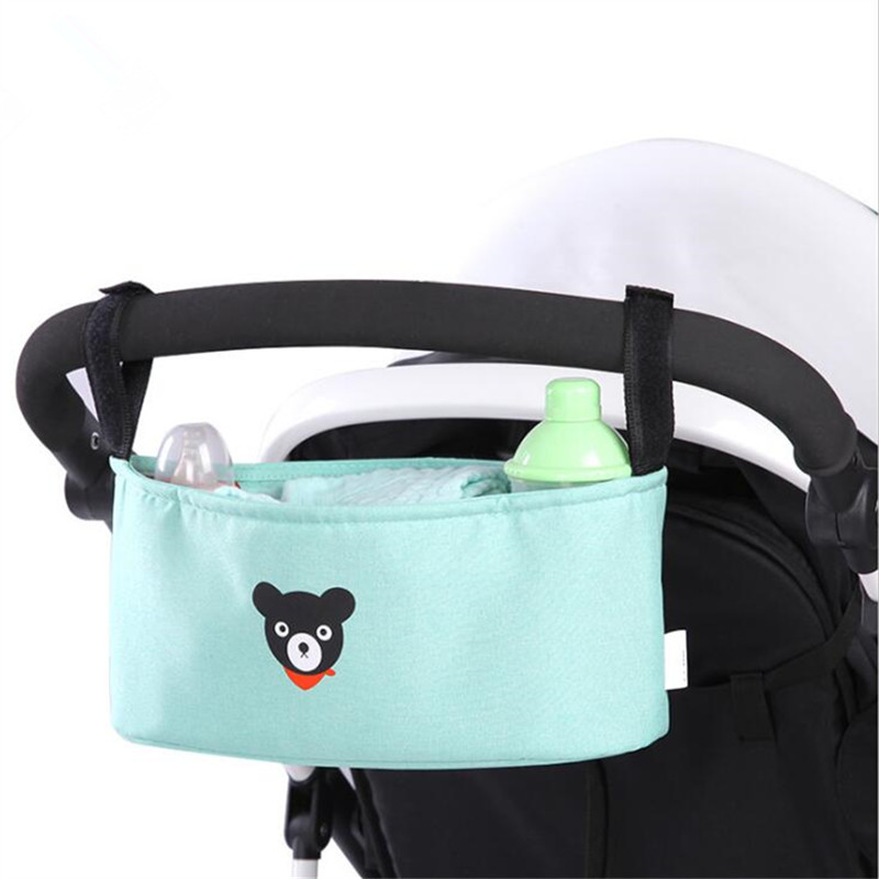 Baby Stroller Bag Organizer Carriage Pram Storage Water Bottle Diaper Bag Baby Carriage Poussette Accessories Cup Yoya