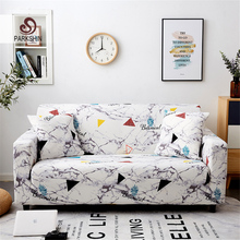 Parkshin Geometrische 1/2/3/4 Seater Hoes Stretch Sofa Covers Meubels Protector Polyester Loveseat Couch Cover Sofa handdoek