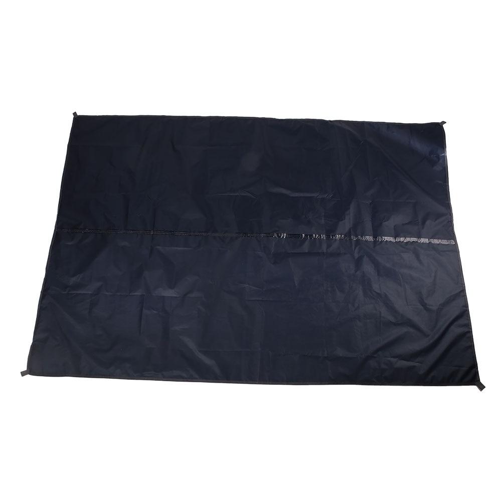 3 цвета 190TPU2000 лагерь на открытом воздухе скатерть для пикника брезент прочный водонепроницаемый кемпинг ткань практичная влагостойкая путешествия - Цвет: navy blue