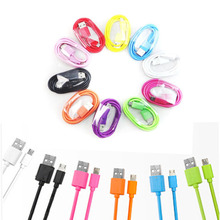 Micro USB Cable Mobile Phone Charging Cable 100CM 2.0 Data sync Charger Cable for Samsung galaxy S6 S4 Android Phones NE0025