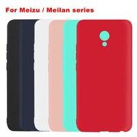 Ultrathin Matte Case For Meizu Pro 6 6s Plus MX6 M3 Max M5 M3 Note Candy