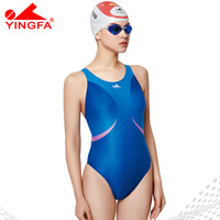 Yingfa 2018 Professional Swimsuit Girl S Training Arena Swimwear Chlorine Resistant One Piece Bathing Suit Competition